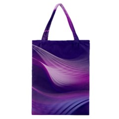 Abstract Purple Classic Tote Bag by AllOverIt