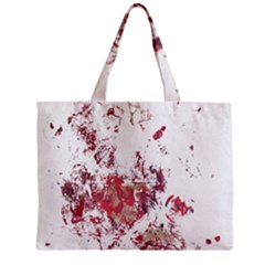 Abstrak Reds Zipper Mini Tote Bag by AllOverIt