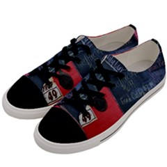 Country Store   Men s Low Top Canvas Sneakers by norastpatrick