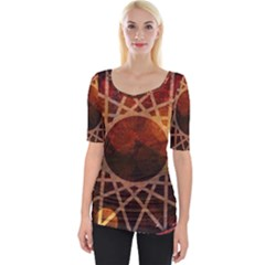 World Spice! Wide Neckline Tee