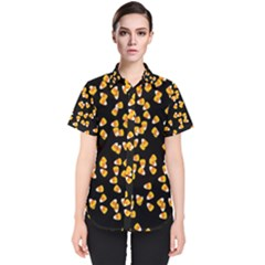 Candy Corn Women s Short Sleeve Shirt