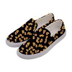Candy Corn Women s Canvas Slip Ons by Valentinaart