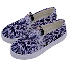 Dreamy Floral 6 Kids  Canvas Slip Ons by MoreColorsinLife