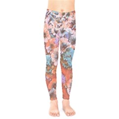 Dreamy Floral 4 Kids  Legging by MoreColorsinLife