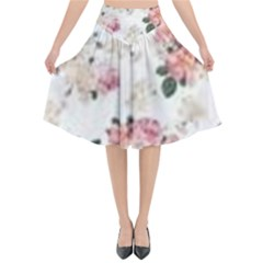 Downloadv Flared Midi Skirt by MaryIllustrations