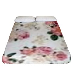Downloadv Fitted Sheet (queen Size) by MaryIllustrations
