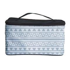 Aztec Influence Pattern Cosmetic Storage Case by ValentinaDesign