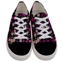 Small Geo Fun D Women s Low Top Canvas Sneakers