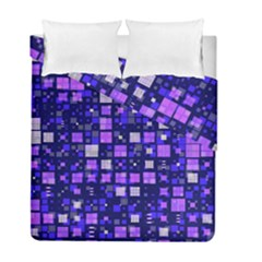 Small Geo Fun E Duvet Cover Double Side (full/ Double Size) by MoreColorsinLife