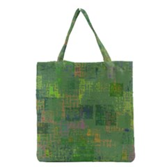 Abstract Art Grocery Tote Bag by ValentinaDesign