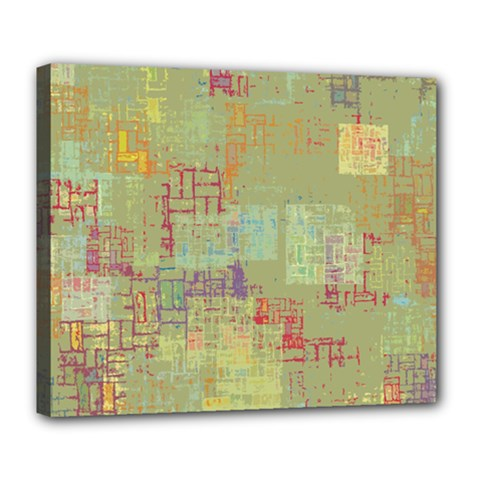 Abstract Art Deluxe Canvas 24  X 20   by ValentinaDesign