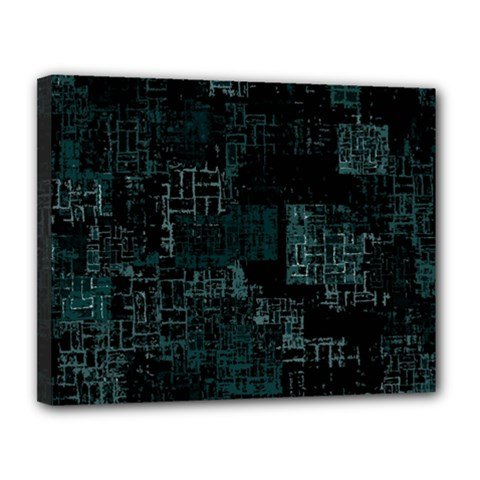 Abstract Art Canvas 14  X 11  by ValentinaDesign