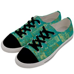 Abstract Art Men s Low Top Canvas Sneakers by ValentinaDesign