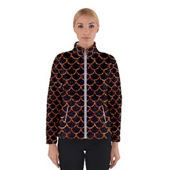 Scales1 Black Marble & Copper Foil Winterwear by trendistuff