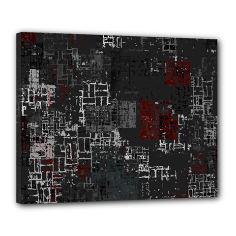 Abstract Art Canvas 20  X 16  by ValentinaDesign
