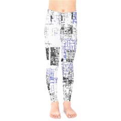Abstract Art Kids  Legging by ValentinaDesign