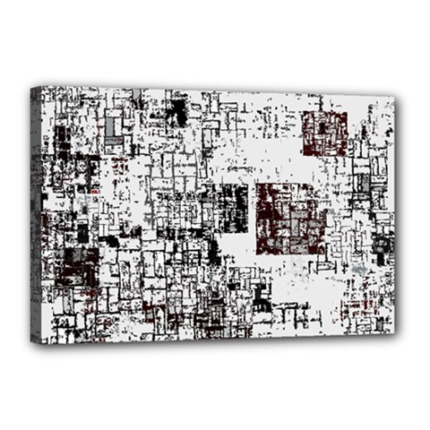 Abstract Art Canvas 18  X 12  by ValentinaDesign