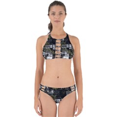 Abstract Art Perfectly Cut Out Bikini Set