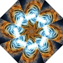 A Blazar Jet In The Middle Galaxy Appear Especially Bright Golf Umbrellas by Mariart