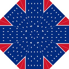 British American Flag Red Blue Star Straight Umbrellas by Mariart