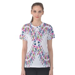 Free Symbol Hands Women s Cotton Tee by Mariart