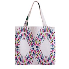 Free Symbol Hands Zipper Grocery Tote Bag by Mariart