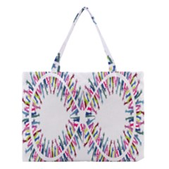 Free Symbol Hands Medium Tote Bag by Mariart
