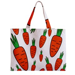 Fruit Vegetable Carrots Medium Tote Bag by Mariart