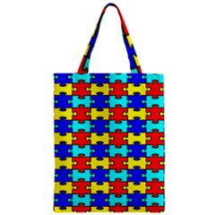 Game Puzzle Zipper Classic Tote Bag by Mariart