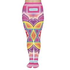 Kali Yantra Inverted Rainbow Women s Tights