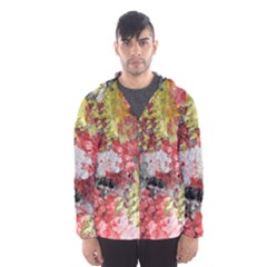 Garden Abstract Hooded Wind Breaker (men) by theunrulyartist