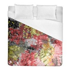 Garden Abstract Duvet Cover (full/ Double Size) by digitaldivadesigns