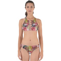 Garden Abstract Perfectly Cut Out Bikini Set