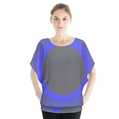 Pure Energy Black Blue Hole Space Galaxy Blouse by Mariart