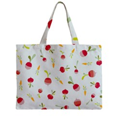 Root Vegetables Pattern Carrots Zipper Mini Tote Bag by Mariart