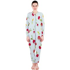 Root Vegetables Pattern Carrots Onepiece Jumpsuit (ladies)