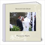 Julies wedding - 8x8 Photo Book (20 pages)
