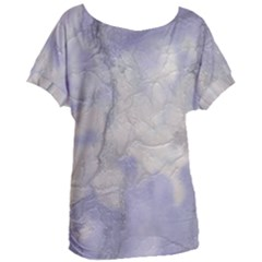Marbled Structure 5b Women s Oversized Tee
