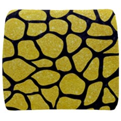Skin1 Black Marble & Gold Glitter Back Support Cushion