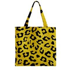 Skin5 Black Marble & Gold Glitter Zipper Grocery Tote Bag by trendistuff
