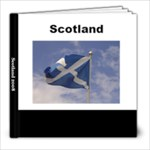 Our holiday to scotland 2008 - 8x8 Photo Book (30 pages)