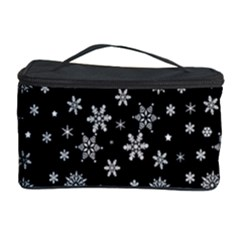 Xmas Pattern Cosmetic Storage Case by Valentinaart