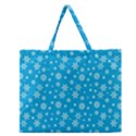 Xmas pattern Zipper Large Tote Bag View1