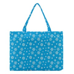 Xmas Pattern Medium Tote Bag by Valentinaart