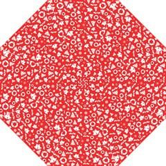 Xmas Pattern Folding Umbrellas by Valentinaart
