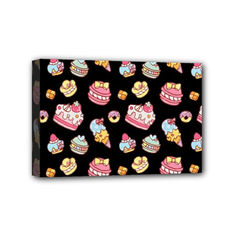 Sweet Pattern Mini Canvas 6  X 4  by Valentinaart