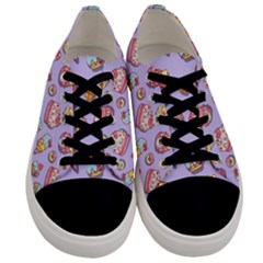 Sweet Pattern Men s Low Top Canvas Sneakers