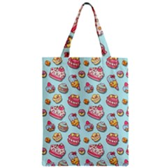 Sweet Pattern Zipper Classic Tote Bag by Valentinaart