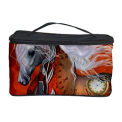 Steampunk, Wonderful Wild Steampunk Horse Cosmetic Storage Case by FantasyWorld7