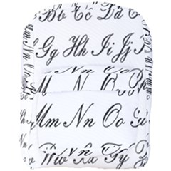 Alphabet Embassy Font Full Print Backpack by Mariart